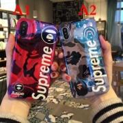 SALE!国内即発! SUPREME+AAPEiphone7 plusケース 最新作 シュプリーム 人気 個性を主張 iphone CASE Aape 海外限定 美品