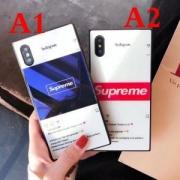 Supremeシュプリームコピー人気定番の気品溢れる上質な仕上がり男女兼用ボックスロゴiPhoneケース2色可選択