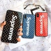 お手ごろ価格!!Supreme ×Louis Vuittonシュプリーム 携帯ケース コピー 高級感のあるプリント ロゴ iphoneXケース 圧倒的な人気